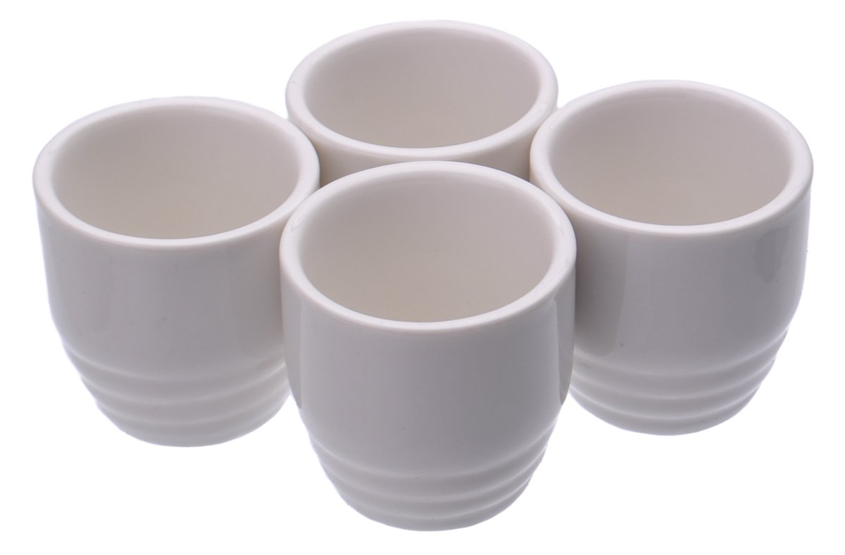 M.V. Trading 201-69 White Porcelain Sake Cups, 2-Inch, 2-Ounce, Set of 1 Cup