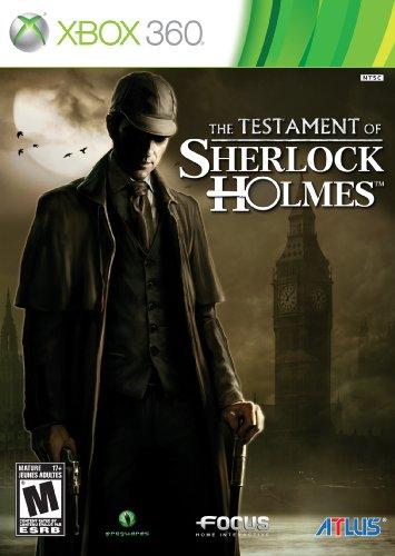 The Testament of Sherlock Holmes - Xbox 360 (Sherlock Xbox Holmes 360)