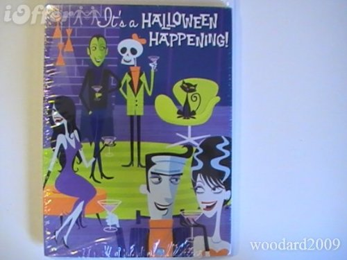 Halloween Holiday Fun Happening Party Invitation Cards Celebration Envelope 8 Ct for $<!--$11.99-->