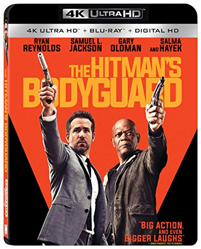 4K Blu-ray : The Hitman's Bodyguard (With Blu-Ray, 4K Mastering, 2 Pack, , Widescreen)