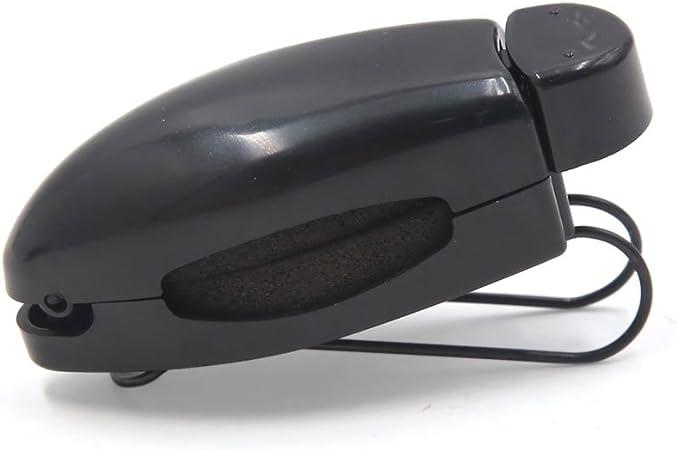 uxcell 2 Pcs Black Car Sun Visor Clip Holder for Reading Glasses Sunglasses Eyeglass