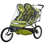 Double Jogger Weather Shield