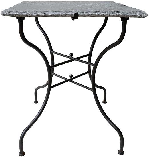 Exclusivo mesa con pesado de piedra natural piedra – Plato de ...