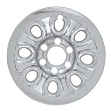 "Bully Imposter IMP-64X, Chevrolet, 17"" Silver Replica Wheel Cover, (Set of 4)"