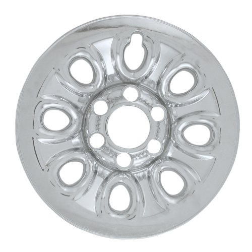 Bully Imposter IMP-64X, Chevrolet, 17'' Silver Replica Wheel Cover, (Set of 4) by Bully (Image #1)