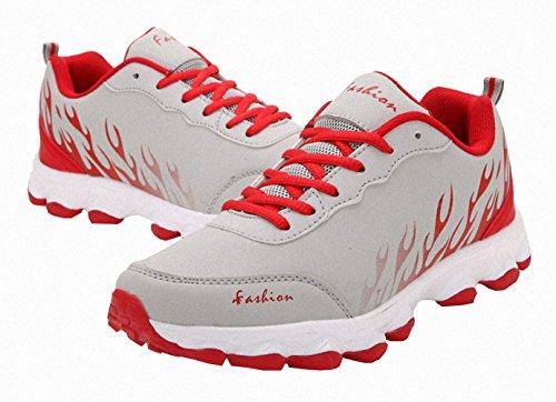 Ben Sport Damen Mens Mode Turnschuhe laufen Walking Sportschuhe grau
