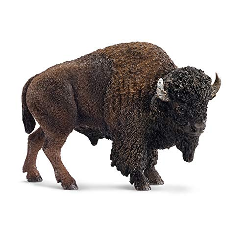 Schleich American Bison Action Figures