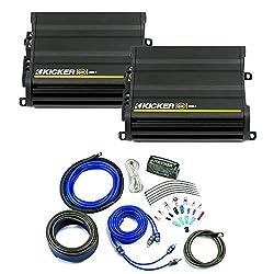 Kicker Cx Amplifier Package - Two Kicker Cx-series 600 Watt Class-d Monoblock Amplifiers 12cx6001