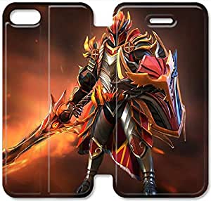 Screen Protection Phone Cases Dota 2-19 iPhone 5 5S Leather Flip Case
