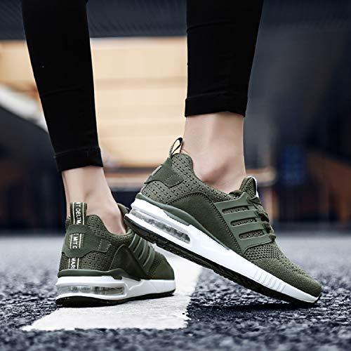 Homme Femme Chaussures Baskets Vert Sneakers H De Sport Basses Course mastery Running tBqpPw
