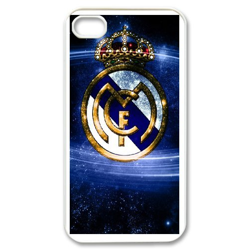 Real Madrid Phone Case And One Free Tempered-Glass Screen Protector For iPhone 4,4S T277936