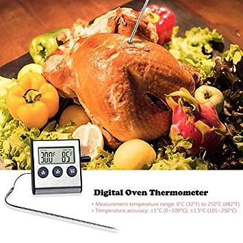 Ants-Store - Termómetro digital para horno, cocina, comida, cocina ...