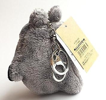 Amazon.com: Bamboos Grocery Totoro Llavero de felpa, el ...