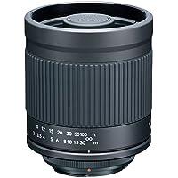 Kenko 400mm F8 mirror lens hood with Pentax K-mount black 419 694