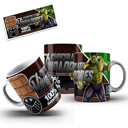 Caneca Vingadores Hulk