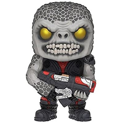 Funko POP Games: Gears of War - Locust Drone Action Figure: Funko Pop! Games: Toys & Games