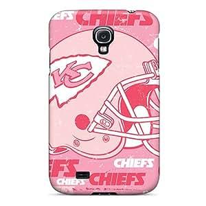 Samsung Galaxy S4 PeY12051AxSk Custom Colorful Kansas City Chiefs Series Best Hard Phone Cases -LavernaCooney