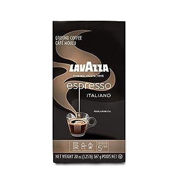 Lavazza Espresso Italiano Ground 100% Arabica Coffee Beans