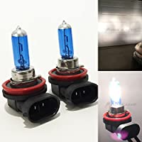 H11 55W White 5000K Xenon Halogen Headlight Lamp Light Bulb (Low Beam) Factory Stock OEM DOT Replace Auto Car USA Seller