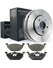 NB Parts Germany 10057655 Remschijven + remblokken voor