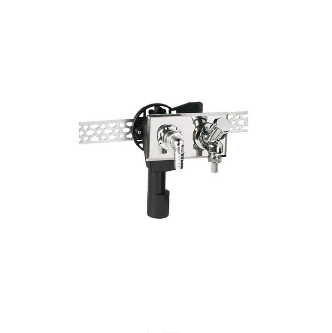 50 mm Waschmaschine Geräteventil PE Unterputz-Siphon UP-Sifon senkrecht DN 40