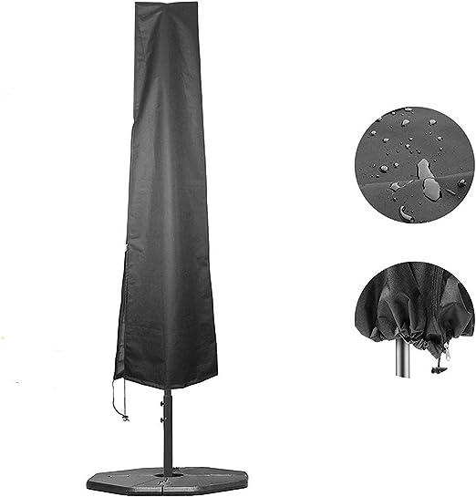 EKUPUZ - Funda para sombrilla de jardín, impermeable, 26 x 57 x 190 cm: Amazon.es: Jardín