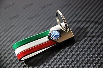 Lollomoto - Llavero de la bandera tricolor de Italia para ...