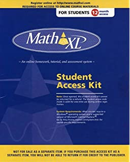 Amazon mathxl 12 month student access kit 9780201726114 mathxl student access kit fandeluxe