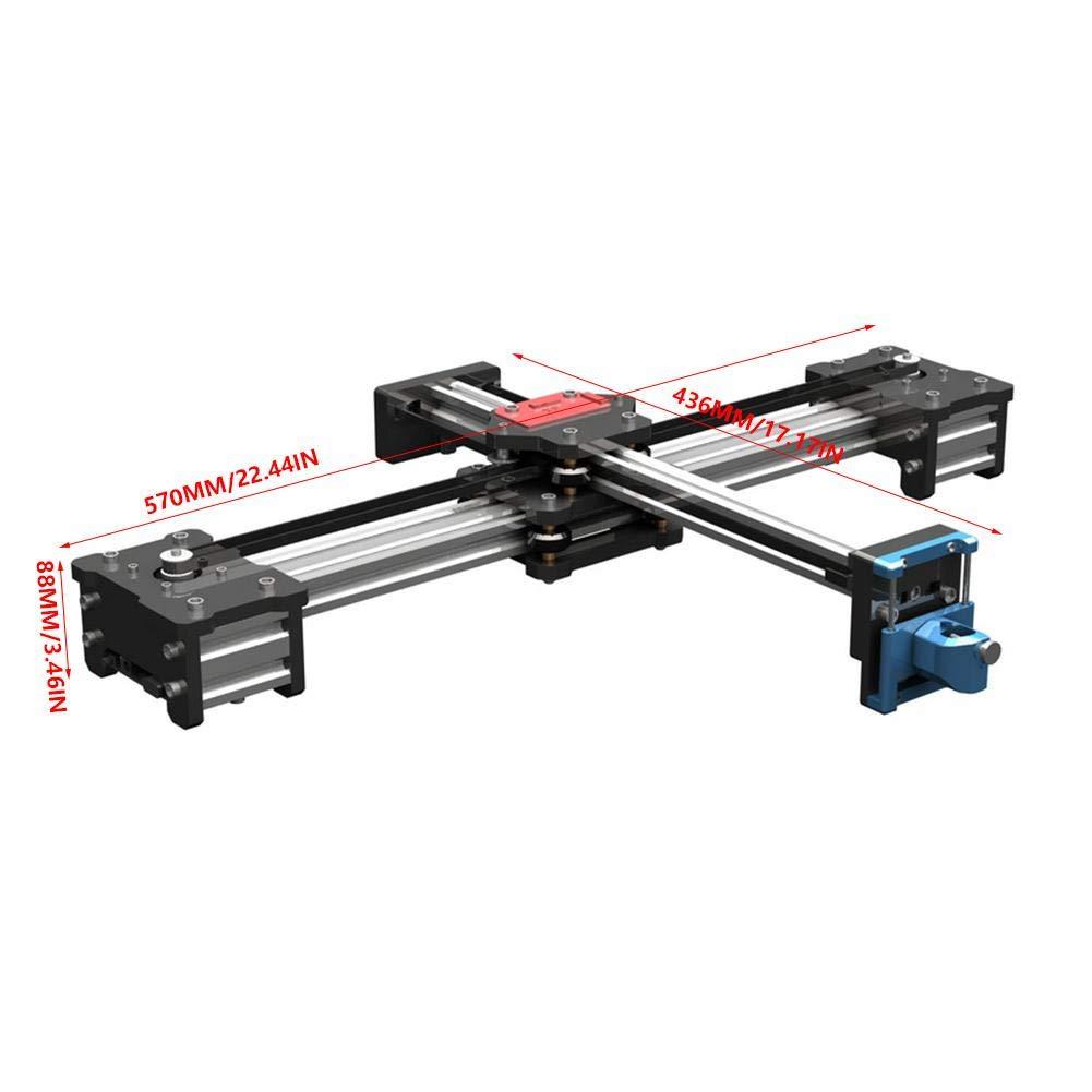 XYプロッタ高精度 2軸描画機金属描画ロボットキット   B07K76JVC1