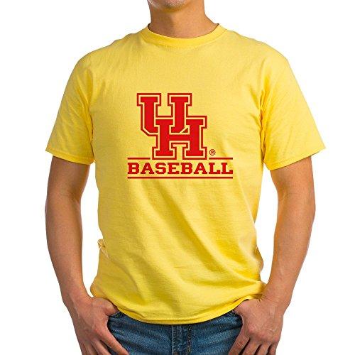 CafePress Houston Cougar Baseball 100% Cotton T-Shirt Yellow ()