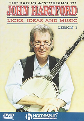 - The Banjo According to John Hartford, Vol. 1 and 2: Licks, Ideas and Music