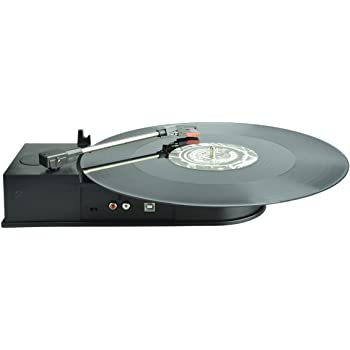 Amazon Com Ion It34 Duo Deck Ultra Portable Usb Turntable