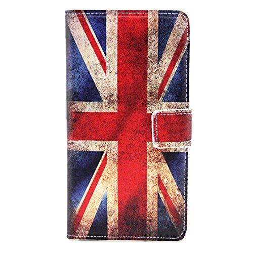 Funda Iphone, Colorful Daisy patrón de flores horizontal Flip caja de cuero con el titular y ranuras de tarjeta para Samsung Galaxy A7 / A700F ( SKU : S-SCS-3771K ) S-SCS-3771F