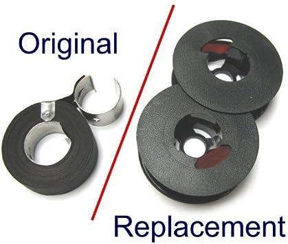Remington 600 611 612 666 Typewriter Ribbon Black Twin Spool