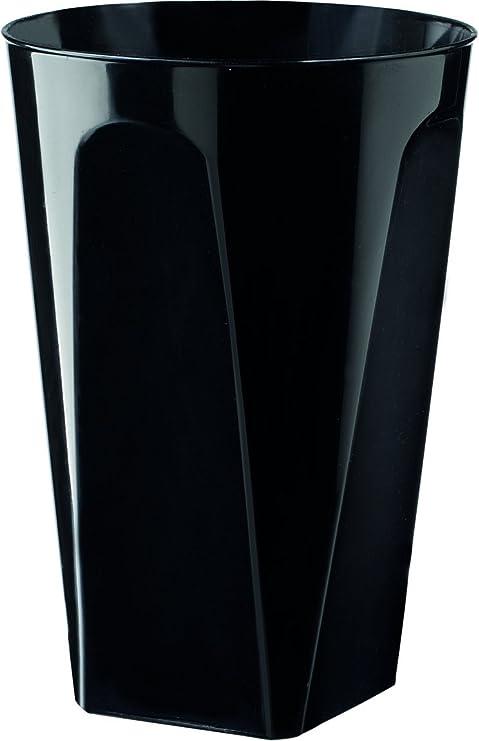 girm® - b127924 conf. 6 piezas, vasos Neri, vasos de plástico Neri ...
