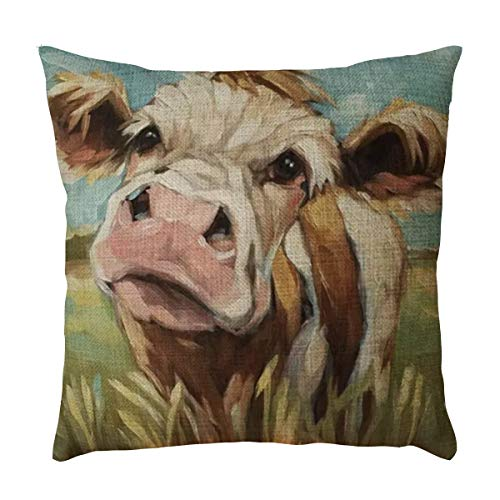 18x18 Animal Pattern Throw Pillow Covers Decorative