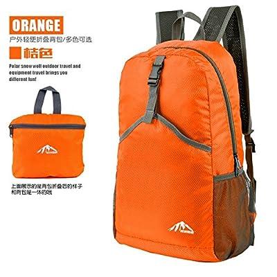 hongrun loisirs en plein air, sac à dos sac à dos pliant marche Randonnée légère peau étanche sac de voyage pack entre les hommes et les femmes.