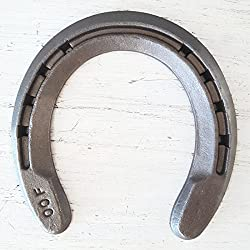 The Heritage Forge - 20 Horseshoes - Rim Shoe - Sand Blasted Steel OO