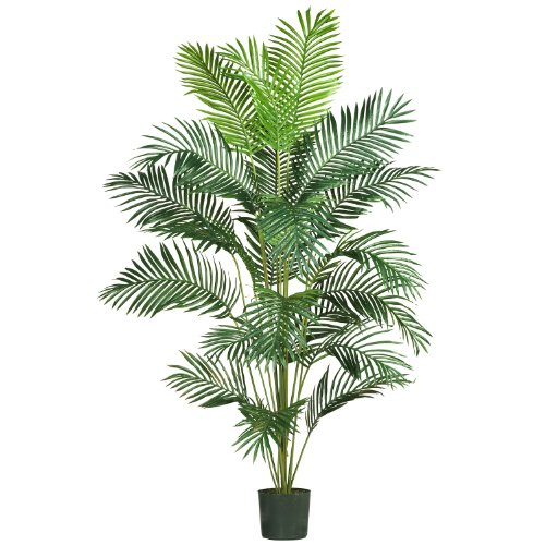 Real Looking 7' Paradise Palm - Silk Tree by AWM