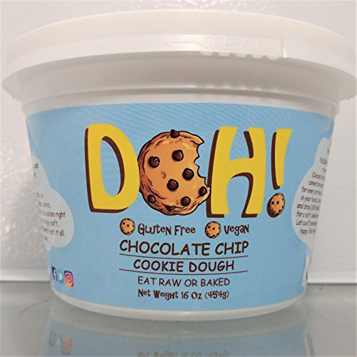 DOH! Gourmet Cookie Dough (Vegan & Gluten Free!)