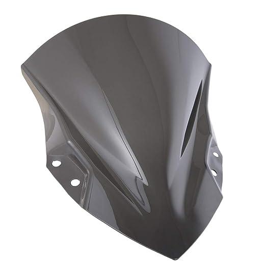 Deflector de Aire de Parabrisas para Motocicleta Deflector ...