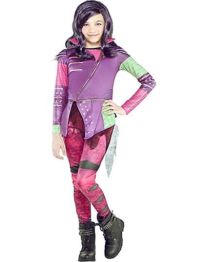 Amazoncom Hallocostume Girls Mal Costume Disney Descendants