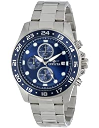 Men's 15205 Pro Diver Chronograph Blue Dial Stainless Steel Watch