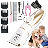 Cola Dog Professional Rechargeable Cat Dog Animal Hair Trimmer Electric Pet Hair Fur Remover Cutter Shaver Grooming Clipper Haircut Machine