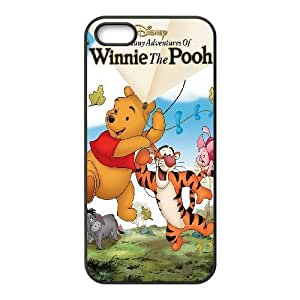iPhone 5, 5S Phone Case The Many Adventures of Winnie the Pooh Personalized Cover Cell Phone Cases GHW502819