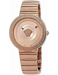 V-Metal Icon Ladies Rose Gold Tone Watch VLC14 0017