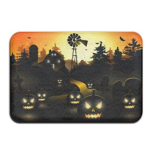 Carl McIsaacDoor Apartment Heavy Duty Pretty Doormat, Halloween
