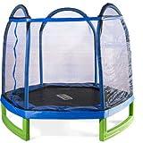 Sportspower MSC-84MFT-WM Bounce Pro 7′ My First Trampoline Hexagon or Kids
