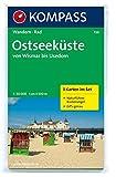 Von Wismar bis Usedom 1 : 50 000: Wandern, Rad. GPS-geeignet. 3-teiliges Wanderkartenset mit Narurführer