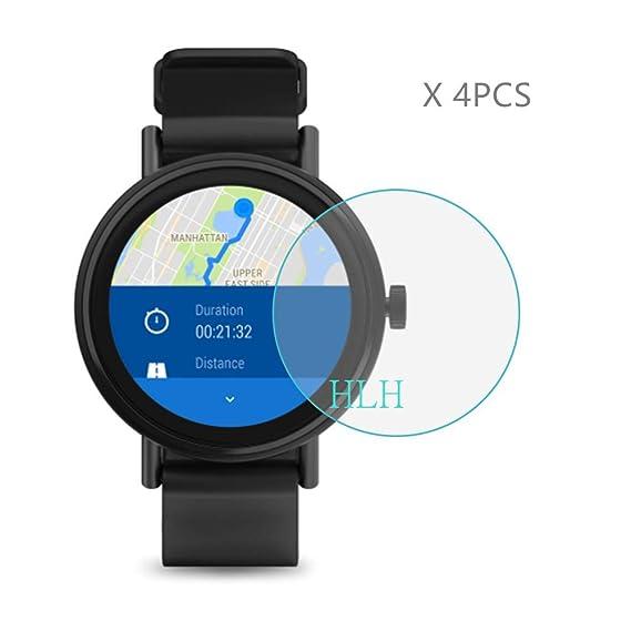 Amazon.com: (4 PCS) HLH for Misfit Vapor 2 (41mm) smartwatch ...